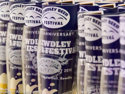 20th Bewdley Beer Festival 23rd – 26th August 2018
