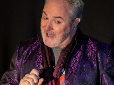 Stand-up Poet – Greg Byron performing at Venue 119 'Imagination Workshop